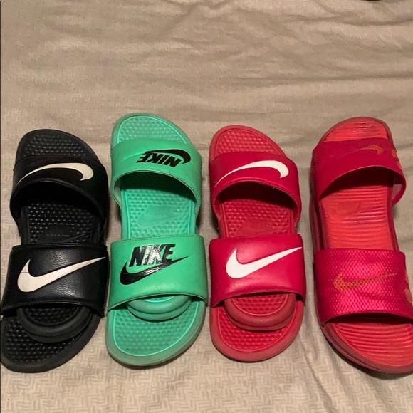 Nike Shoes | Nike Slide Bundle | Poshmark